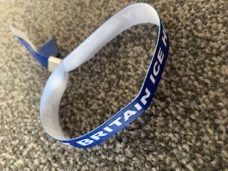 GBSC Fabric Wristband